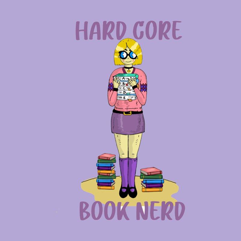 Hard Core Book Nerd Accessories Phone Case by Lili Valente Makes Stuff