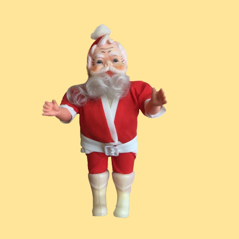 Creepy Thrift Store Santa by Lili Valente Makes Stuff