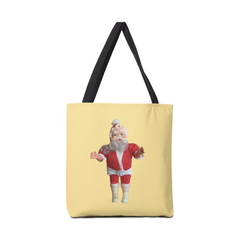 Creepy Thrift Store Santa Accessories Bag by Lili Valente Makes Stuff