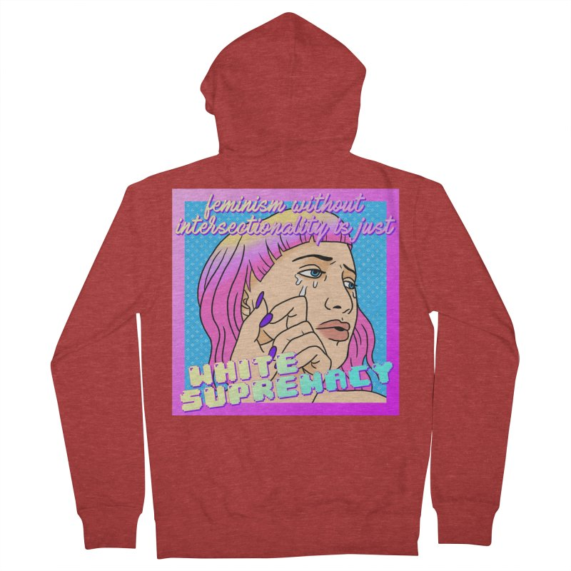 Facts (Remix) Women's French Terry Zip-Up Hoody by lil merch