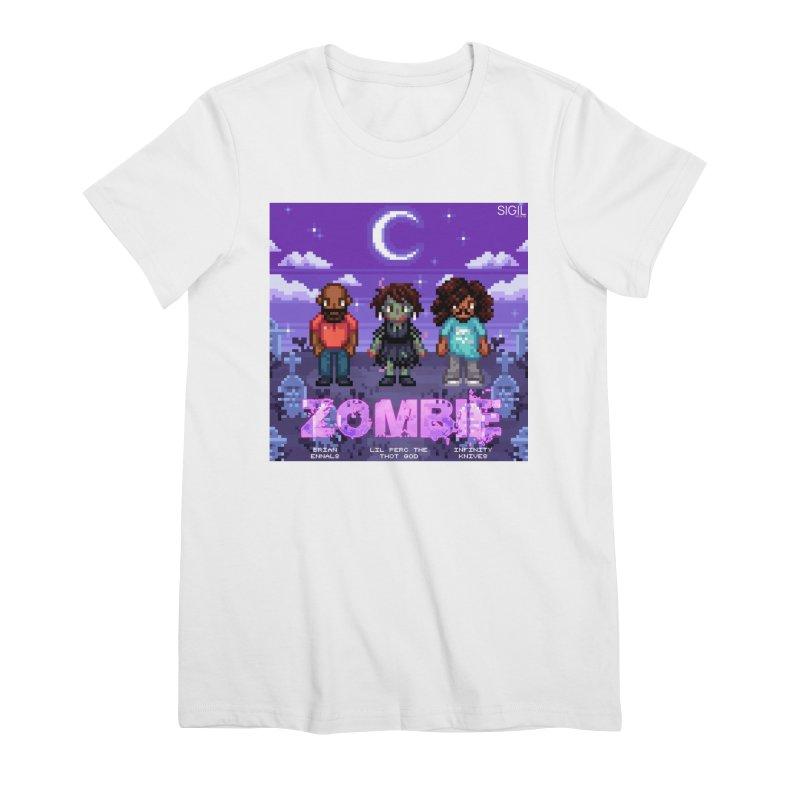 Zombie (Full) Women's Premium T-Shirt by lil merch