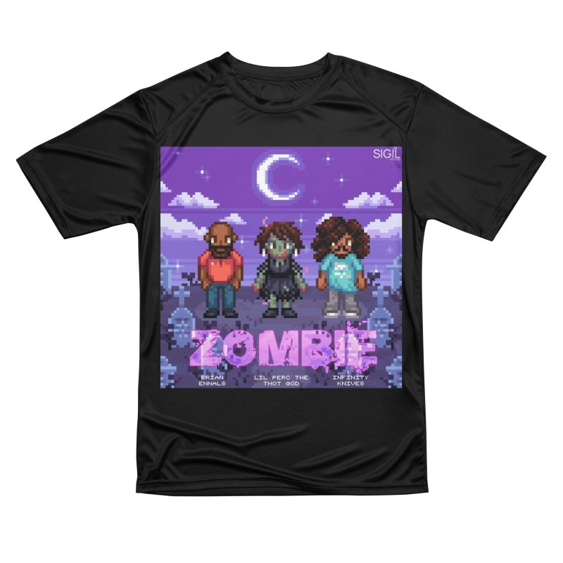 Zombie (Full) Men's Performance T-Shirt by lil merch