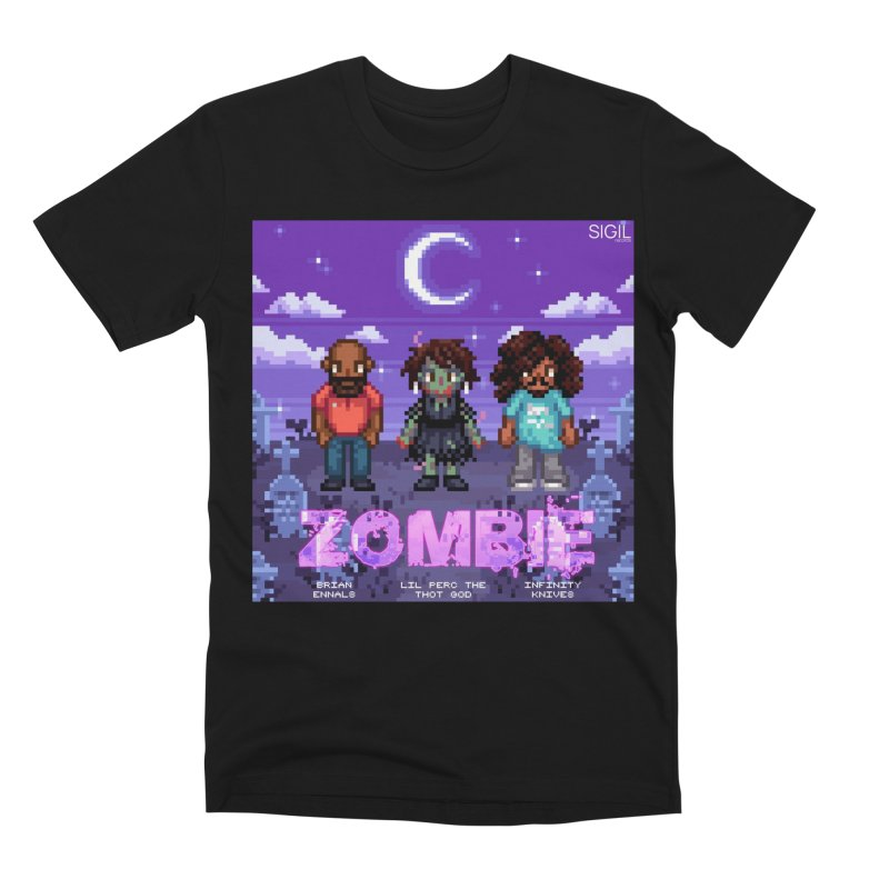 Zombie (Full) Men's Premium T-Shirt by lil merch