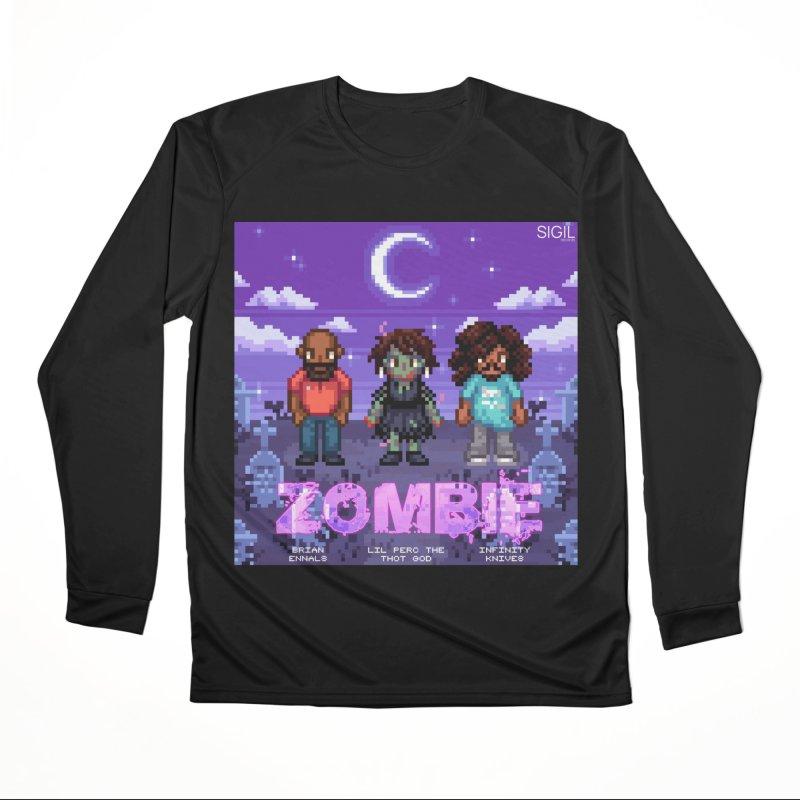 Zombie (Full) Men's Performance Longsleeve T-Shirt by lil merch
