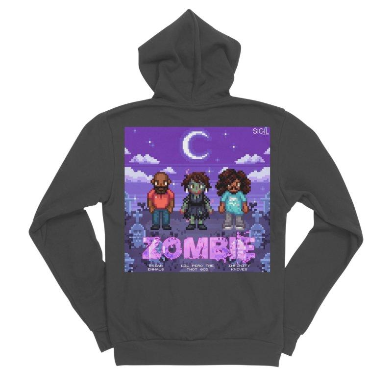 Zombie (Full) Women's Sponge Fleece Zip-Up Hoody by lil merch