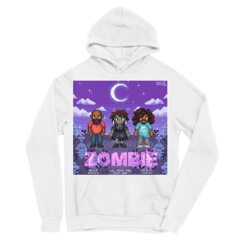 Zombie (Full) Men's Sponge Fleece Pullover Hoody by lil merch