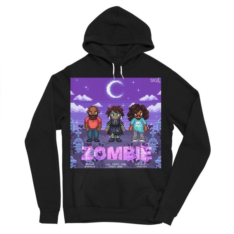 Zombie (Full) Women's Sponge Fleece Pullover Hoody by lil merch
