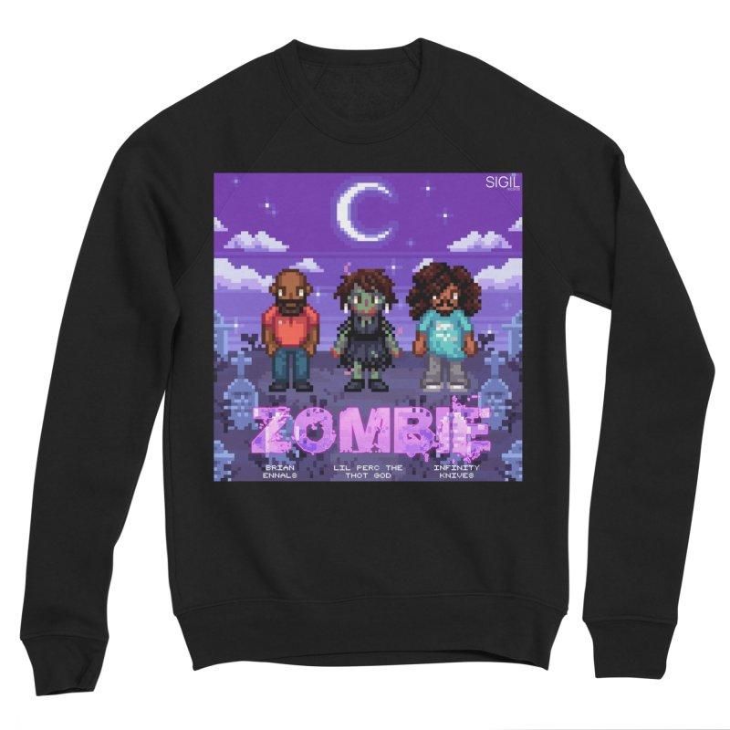 Zombie (Full) Men's Sponge Fleece Sweatshirt by lil merch
