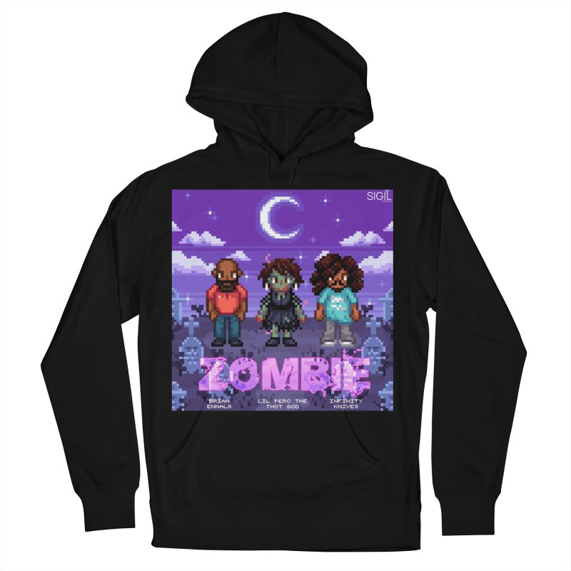 Zombie (Full) Men's French Terry Pullover Hoody by lil merch