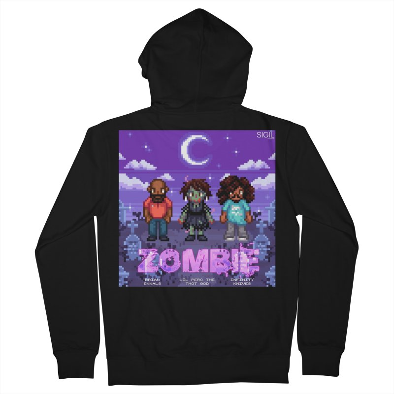 Zombie (Full) Men's Zip-Up Hoody by lil merch