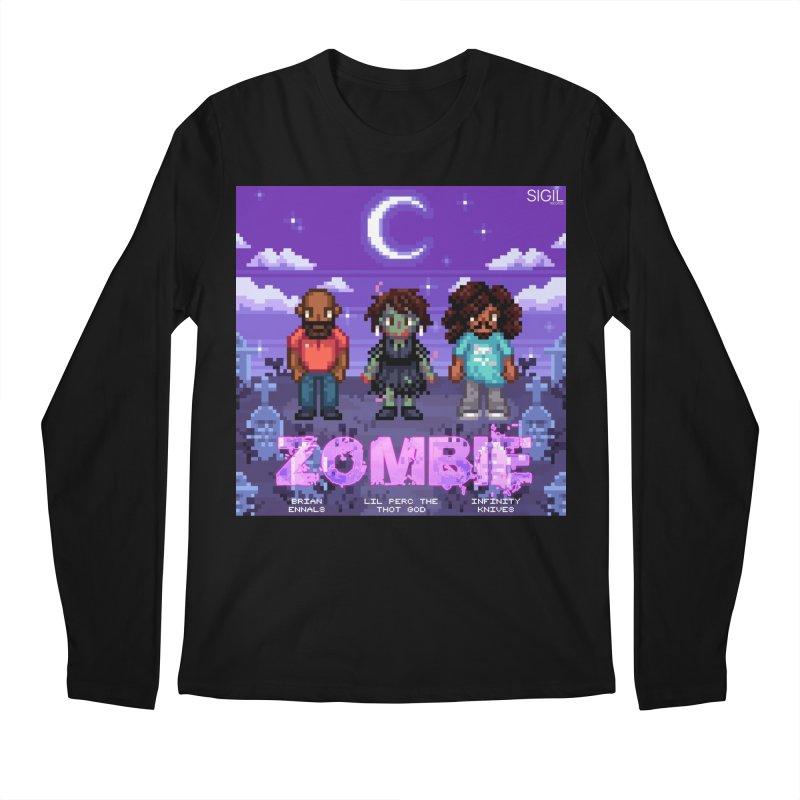 Zombie (Full) Men's Regular Longsleeve T-Shirt by lil merch