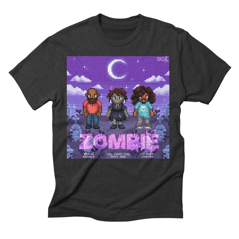 Zombie (Full) Men's Triblend T-Shirt by lil merch