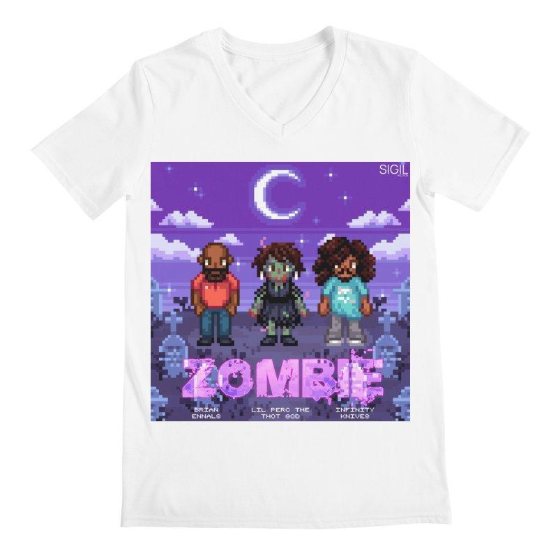 Zombie (Full) Men's V-Neck by lil merch