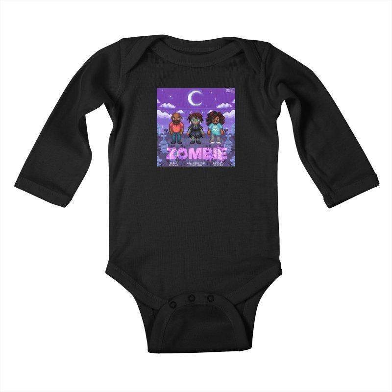 Zombie (Full) Kids Baby Longsleeve Bodysuit by lil merch