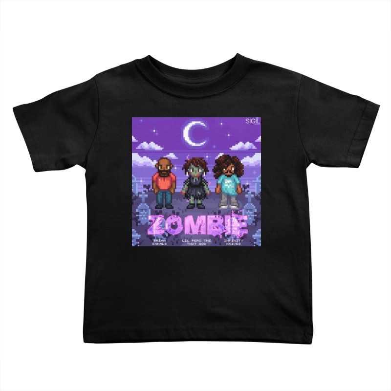 Zombie (Full) Kids Toddler T-Shirt by lil merch