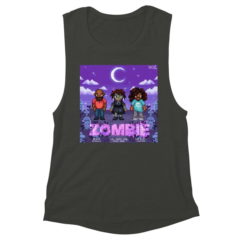 Zombie (Full) Women's Muscle Tank by lil merch
