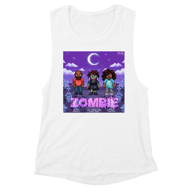 Zombie (Full) Women's Muscle Tank by lil merch