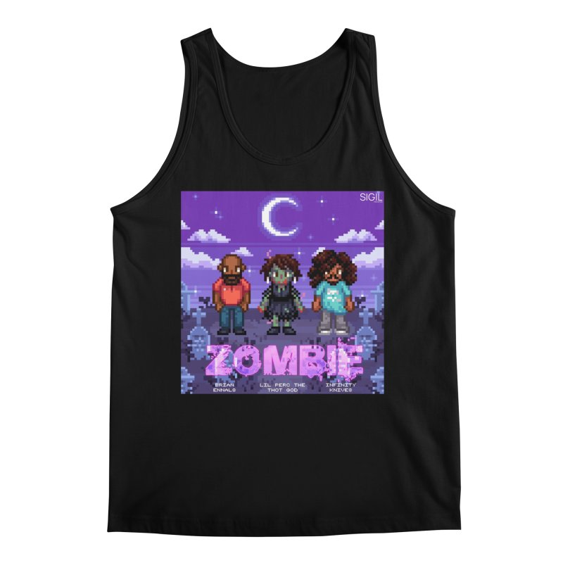 Zombie (Full) Men's Tank by lil merch