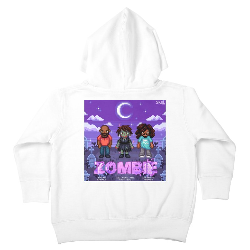 Zombie (Full) Kids Toddler Zip-Up Hoody by lil merch