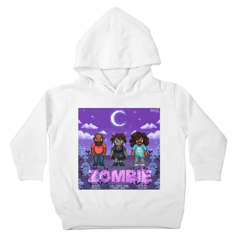 Zombie (Full) Kids Toddler Pullover Hoody by lil merch