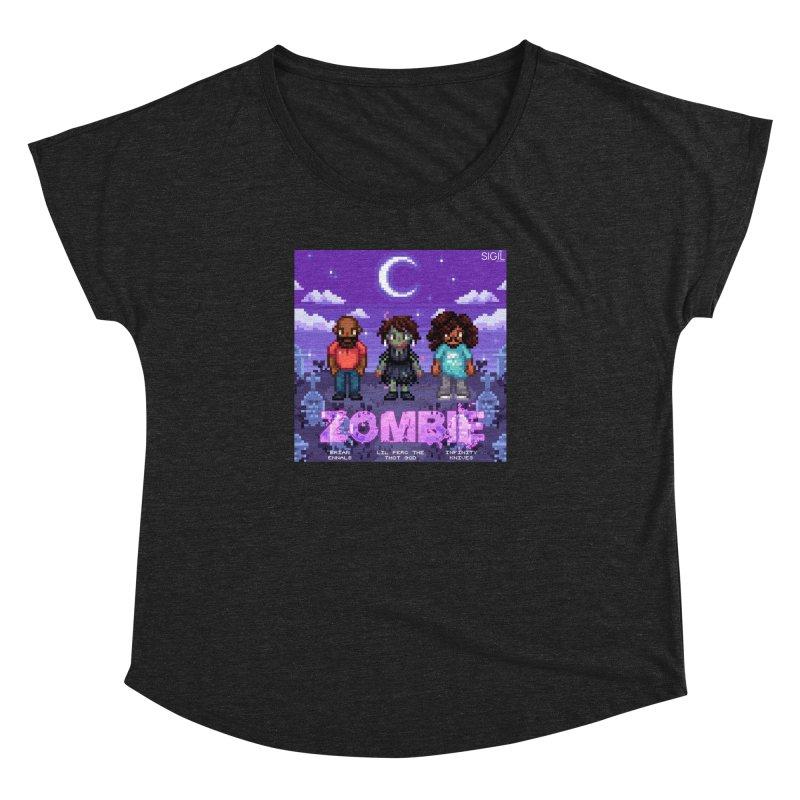Zombie (Full) Women's Dolman Scoop Neck by lil merch
