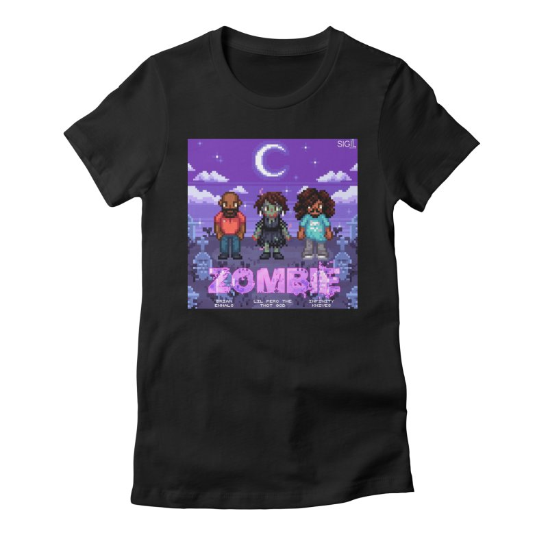 Zombie (Full) Women's T-Shirt by lil merch