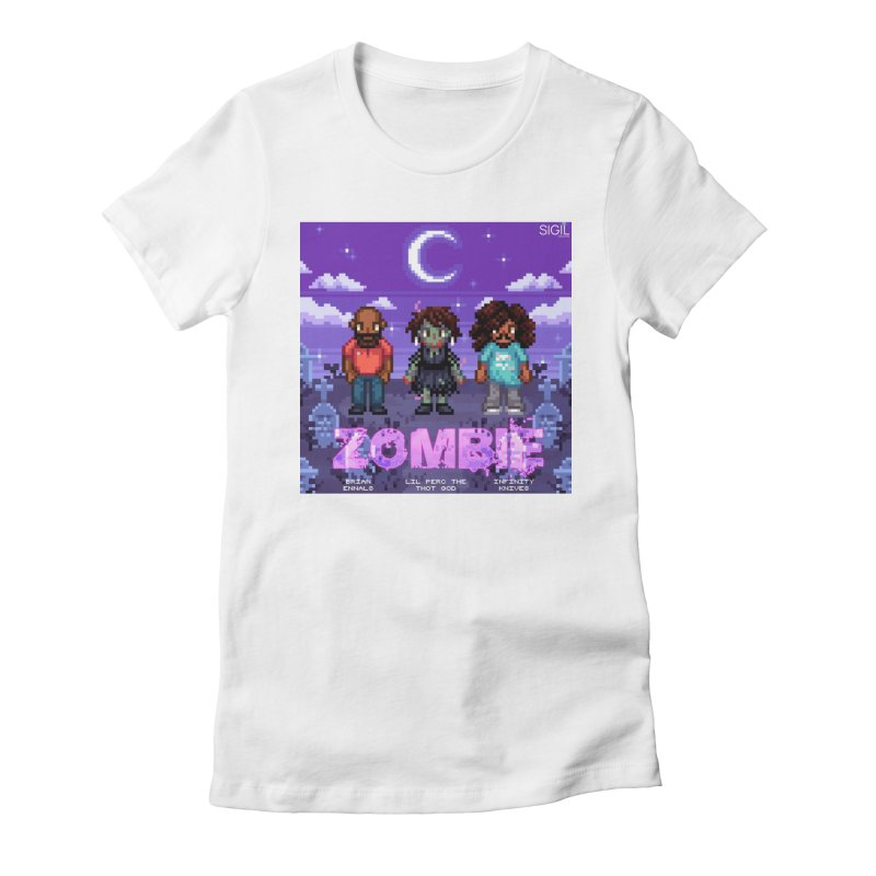 Zombie (Full) Women's Fitted T-Shirt by lil merch