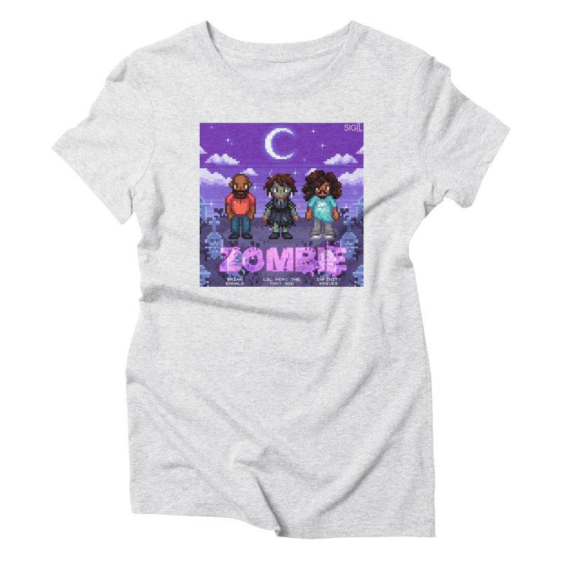 Zombie (Full) Women's Triblend T-Shirt by lil merch