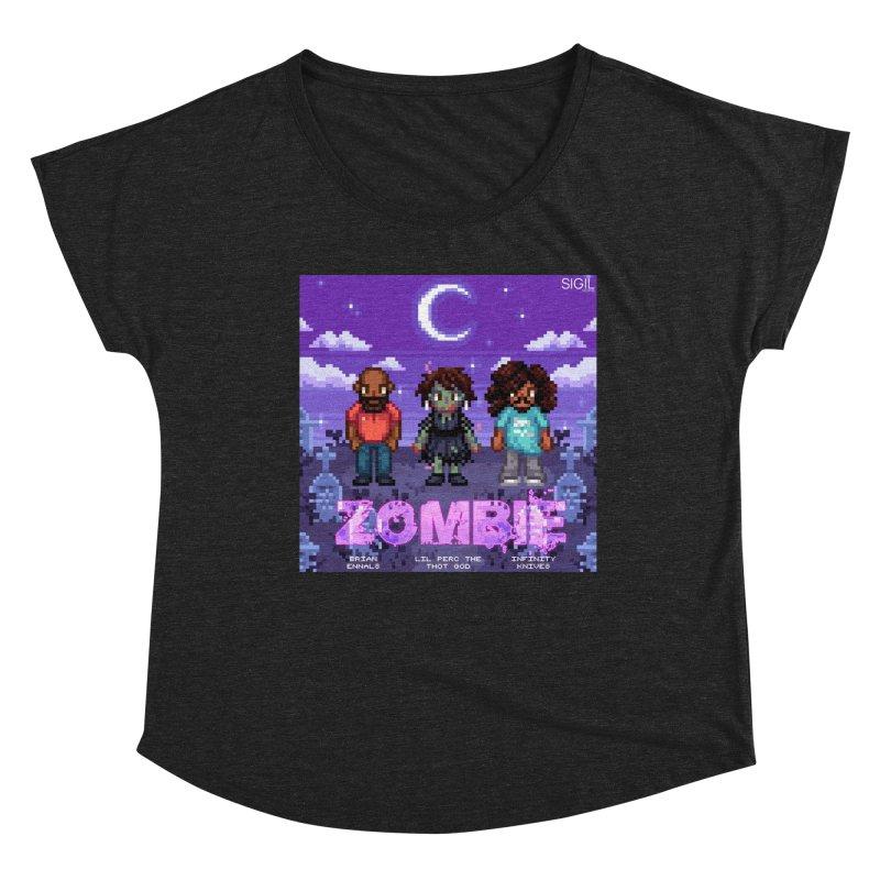 Zombie (Full) Women's Scoop Neck by lil merch
