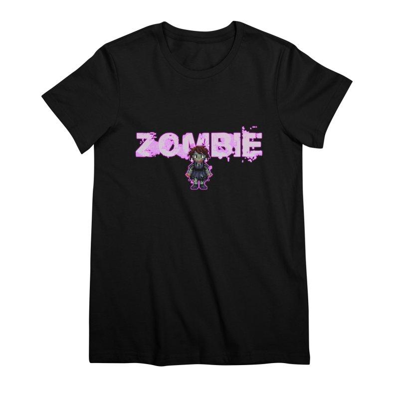 Zombie Perc 1 Women's Premium T-Shirt by lil merch