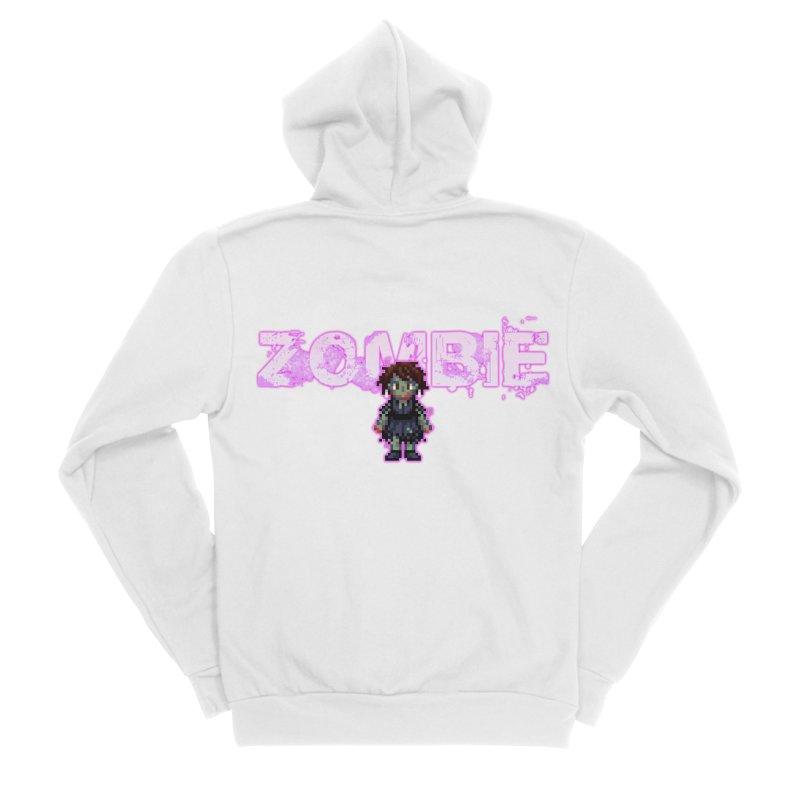 Zombie Perc 1 Men's Sponge Fleece Zip-Up Hoody by lil merch