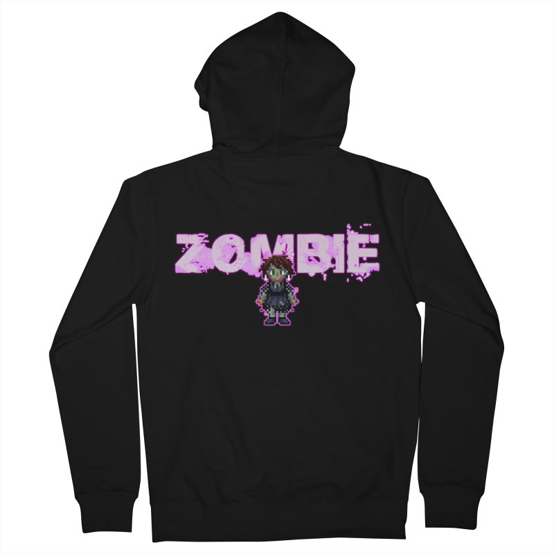 Zombie Perc 1 Men's French Terry Zip-Up Hoody by lil merch