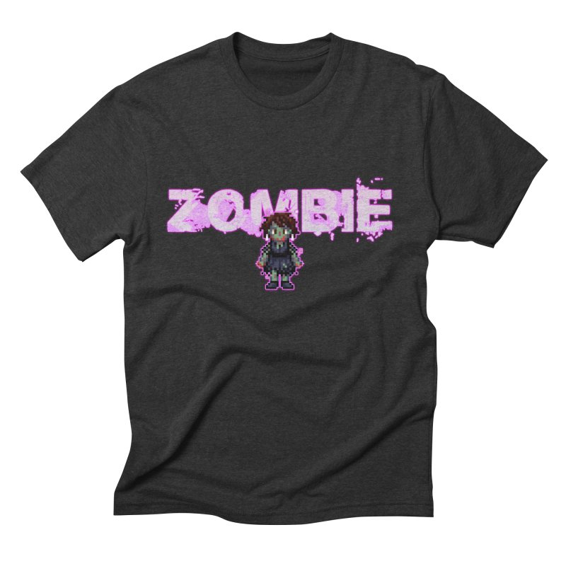 Zombie Perc 1 Men's Triblend T-Shirt by lil merch