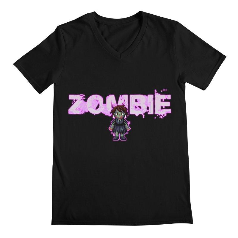 Zombie Perc 1 Men's Regular V-Neck by lil merch