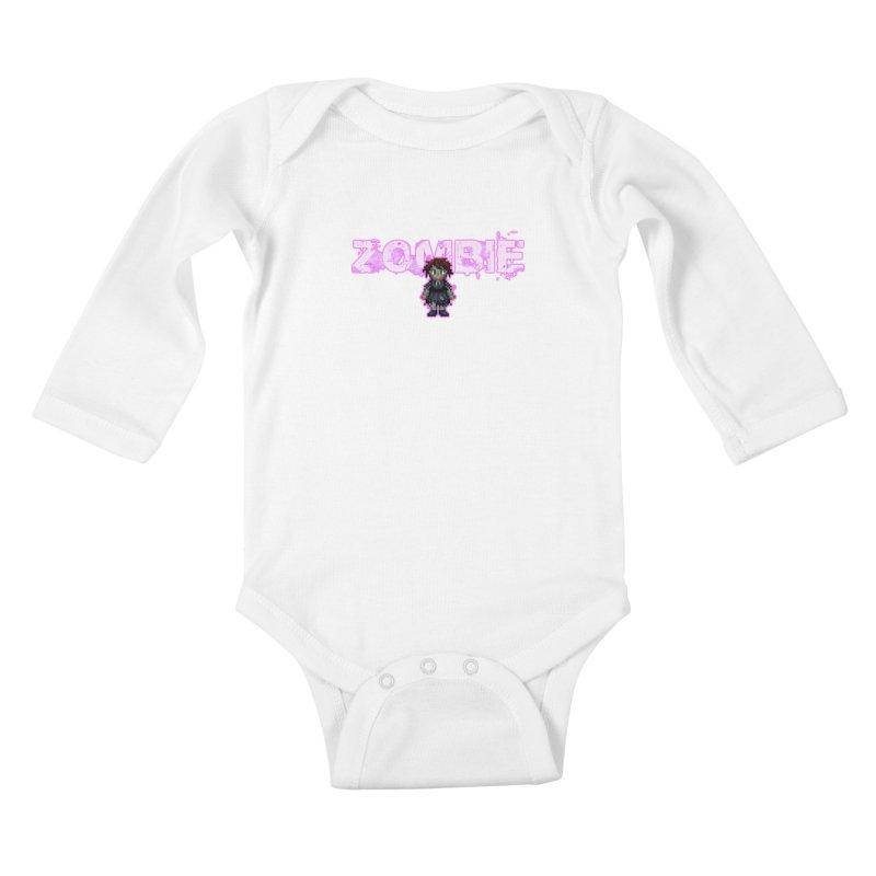 Zombie Perc 1 Kids Baby Longsleeve Bodysuit by lil merch