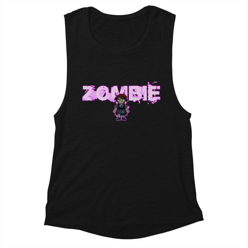 Zombie Perc 1 Women's Muscle Tank by lil merch