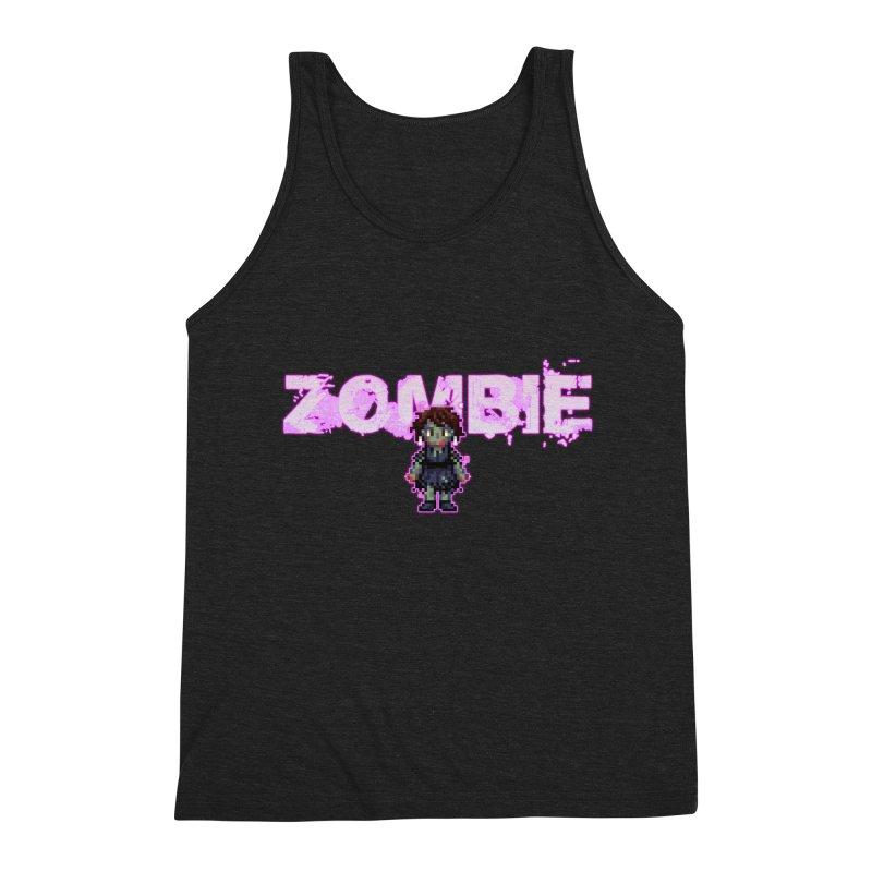 Zombie Perc 1 Men's Triblend Tank by lil merch
