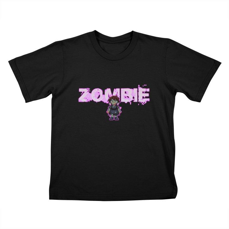 Zombie Perc 1 Kids T-Shirt by lil merch