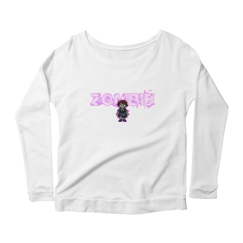 Zombie Perc 1 Women's Scoop Neck Longsleeve T-Shirt by lil merch