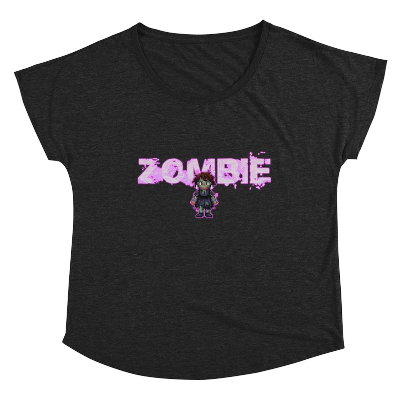Zombie Perc 1 Women's Scoop Neck by lil merch