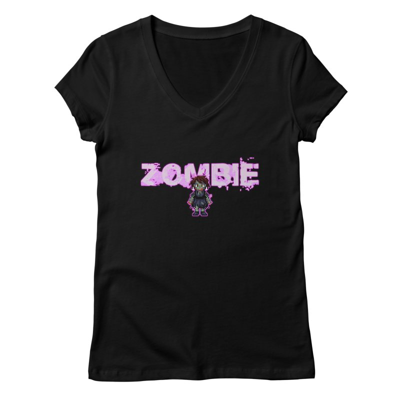 Zombie Perc 1 Women's V-Neck by lil merch