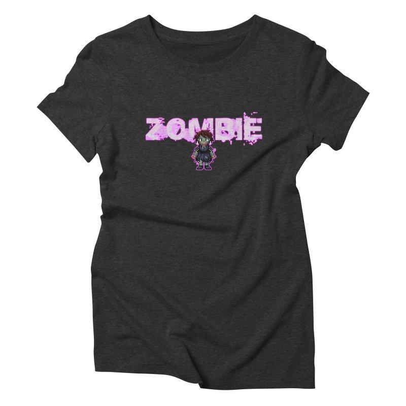 Zombie Perc 1 Women's Triblend T-Shirt by lil merch
