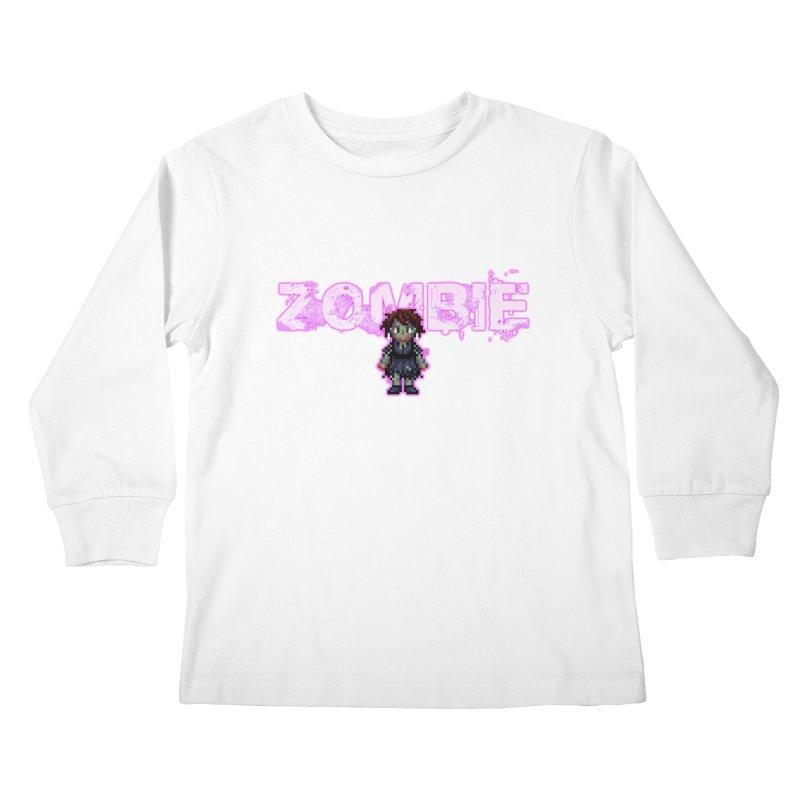 Zombie Perc 1 Kids Longsleeve T-Shirt by lil merch