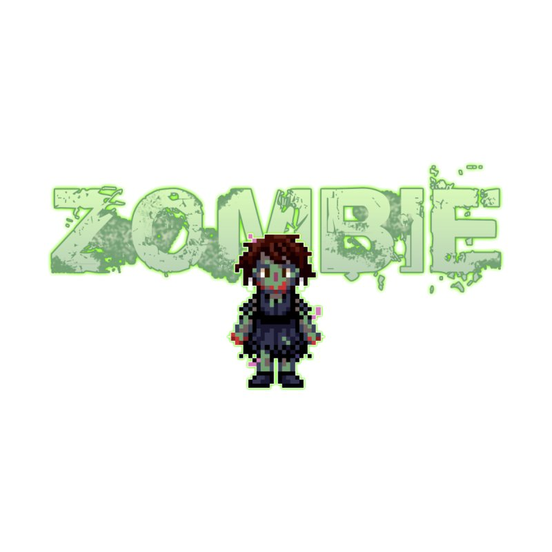 Zombie Sprite 2 Accessories Sticker by lil merch