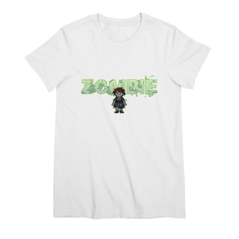 Zombie Sprite 2 Women's Premium T-Shirt by lil merch