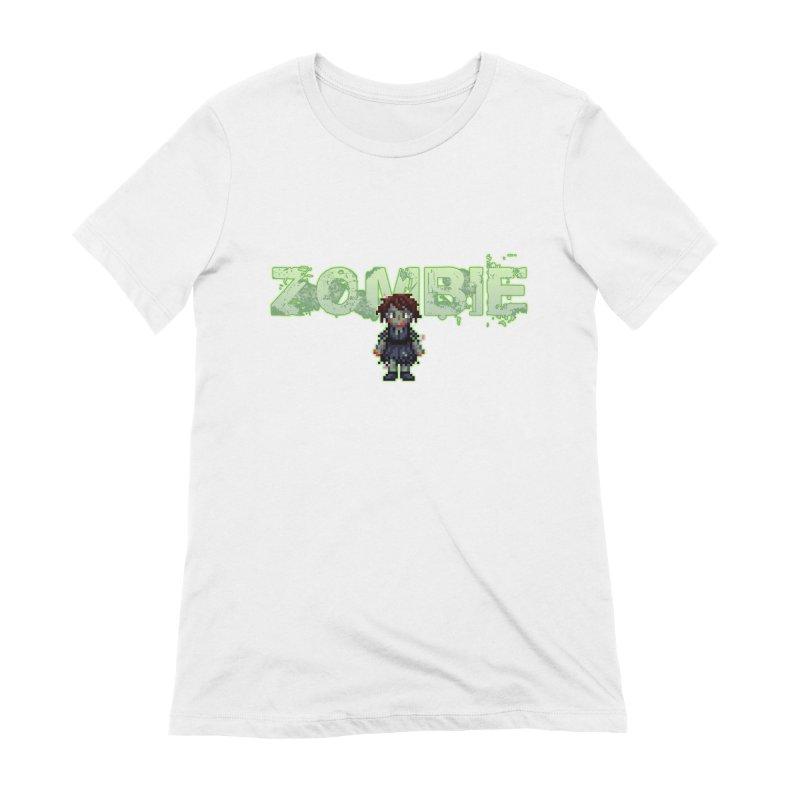 Zombie Sprite 2 Women's Extra Soft T-Shirt by lil merch