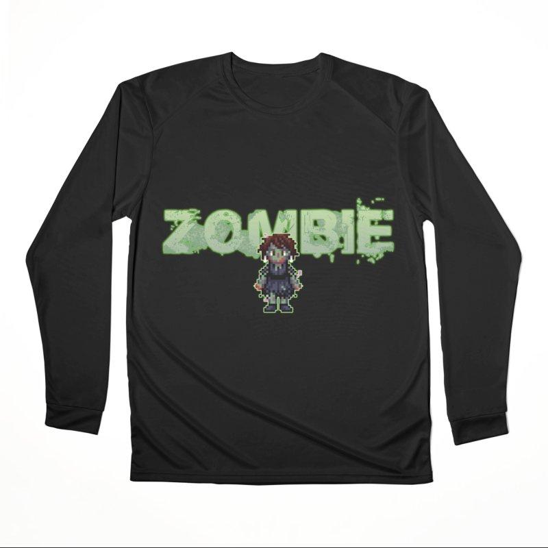 Zombie Sprite 2 Men's Performance Longsleeve T-Shirt by lil merch