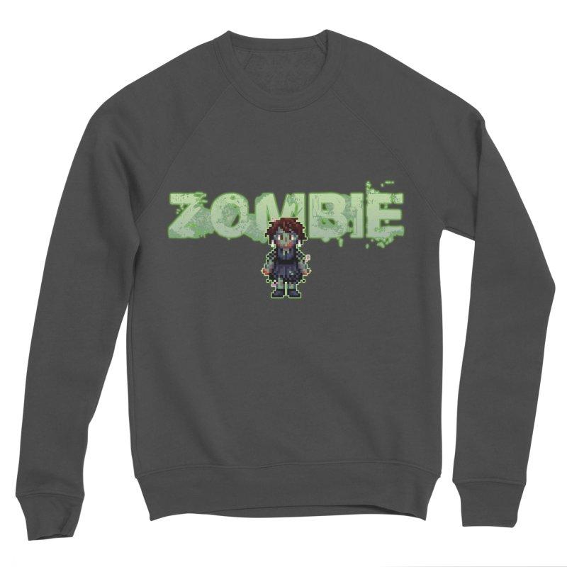 Zombie Sprite 2 Men's Sponge Fleece Sweatshirt by lil merch