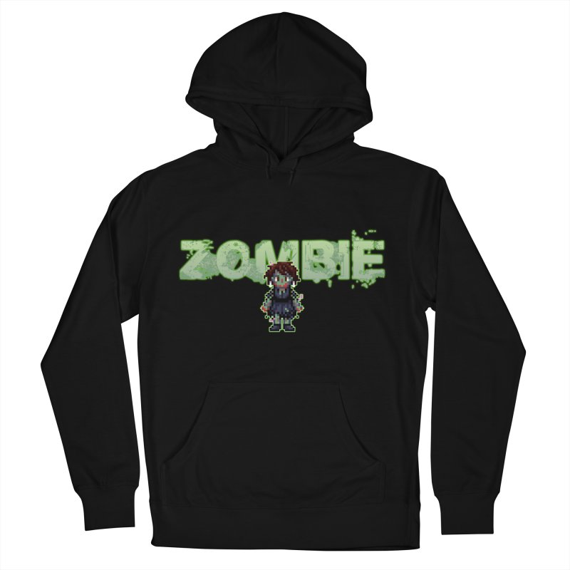 Zombie Sprite 2 Men's French Terry Pullover Hoody by lil merch