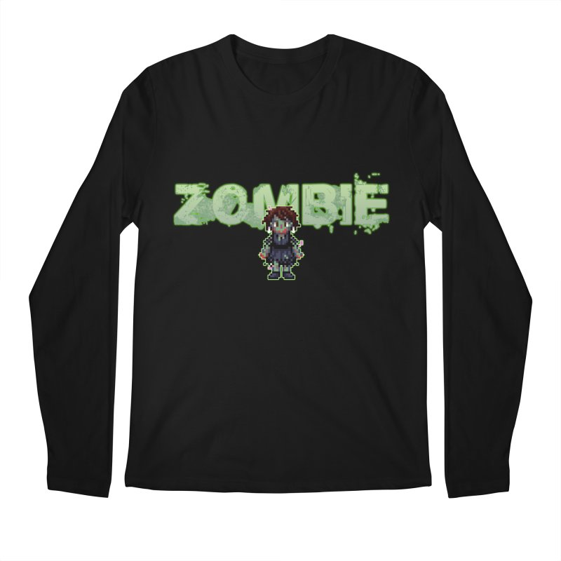 Zombie Sprite 2 Men's Longsleeve T-Shirt by lil merch